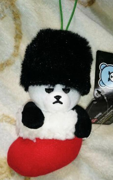 BIGBANG 非売品アミューズメント景品 クリスマスブーツマスコット T.O. ライブグッズの画像