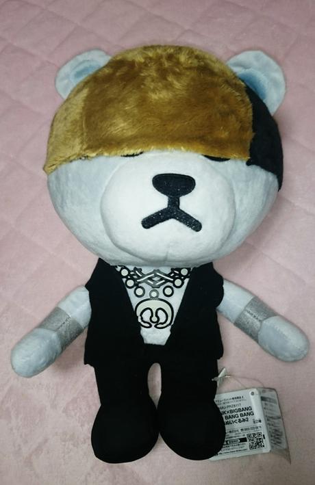 BIGBANG BANG BANG BANG BIGぬいぐるみ非売品テソン ライブグッズの画像