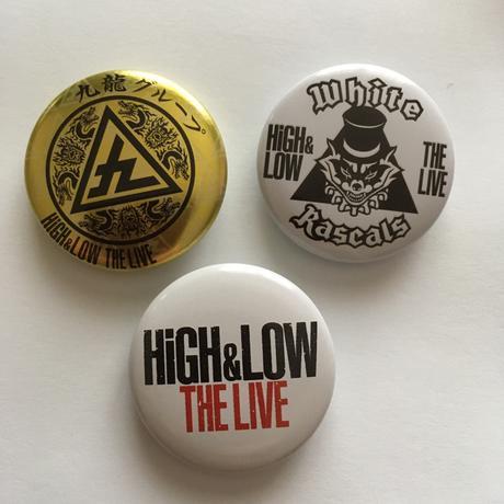 HIGH&LOW ツアーグッズ缶バッチ ライブグッズの画像