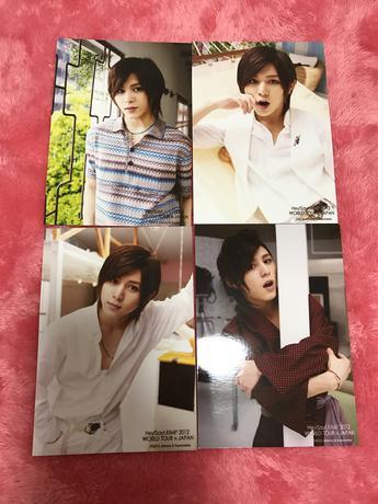 山田涼介 公式写真(Hey!Say!JUMP 2012 WORLD TOUR) コンサートグッズの画像