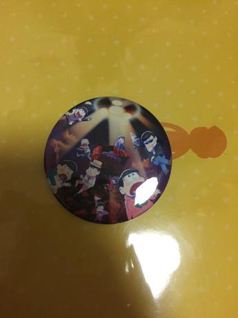 オープニング缶バッジ グッズの画像
