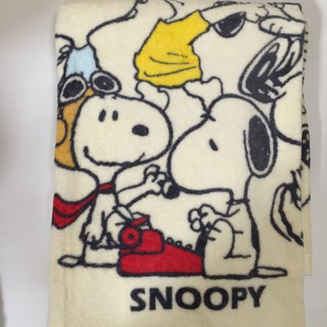 スヌーピー バスタオル 70×140  西川リビング グッズの画像