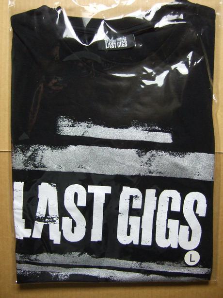 氷室京介 LAST GIGS Local ver.Tshirts 東京 新品 ライブグッズの画像