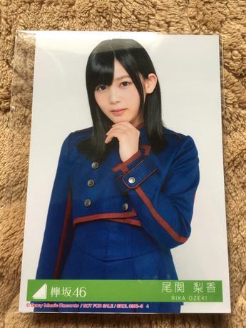 欅坂46『不協和音』特典生写真 尾関梨香 ライブ・握手会グッズの画像