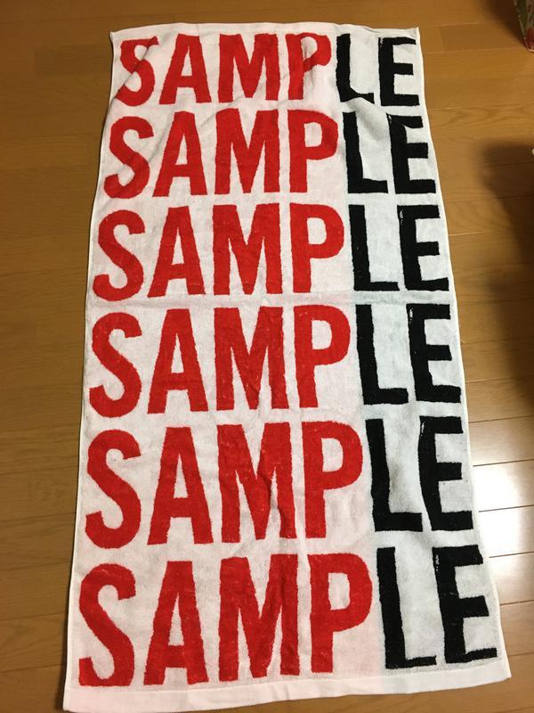 SMAP  SAMPLE ツアーバスタオル コンサートグッズの画像