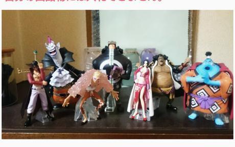 ONE PIECEワンピ超造形魂七武海フィギュア ハンコック ジンベイ7体セット グッズの画像