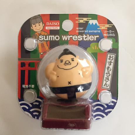 お相撲さん ソーラーゆらゆら 電池不要 グッズの画像