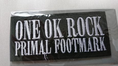 ONE OK ROCK ワッペン ライブグッズの画像
