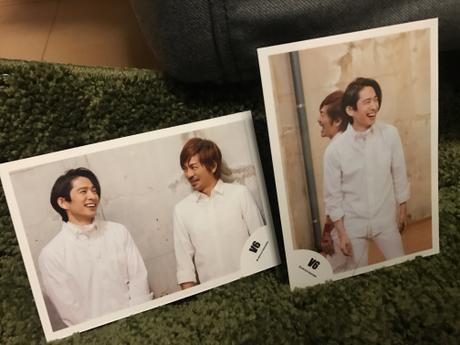 V6 三宅健さん 森田剛さん 混合 生写真 2枚セット コンサートグッズの画像