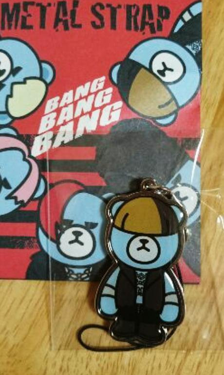 BIGBANGメタルストラップ テソンD-LITE シルバー ランダム商品 ライブグッズの画像