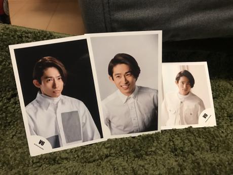 V6 三宅健さん 生写真 3枚セット コンサートグッズの画像