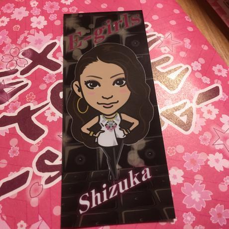EーGirls Shizuka キラキラシール ライブグッズの画像