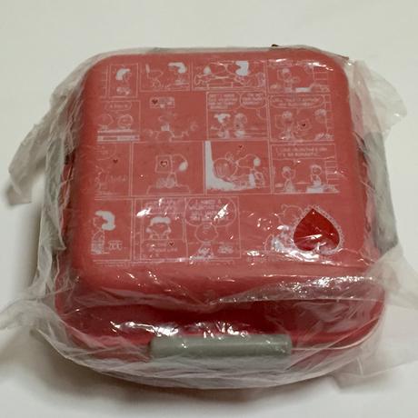 LOGOS×しまむら    スヌーピー  お弁当箱 ピンク グッズの画像