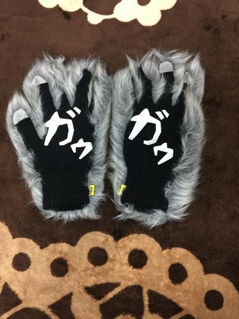 マンウィズ ガゥガゥ手袋 マンウィズアミッション マンウィズ MWAM バンド ライブグッズの画像