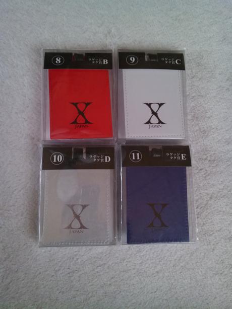 X JAPAN ローソンくじ ラゲツジタグ ライブグッズの画像
