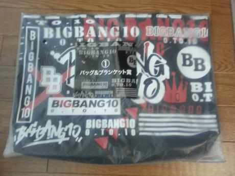 BIGBANGくじ 〔バッグのみ〕バッグ&ブランケット賞 ライブグッズの画像