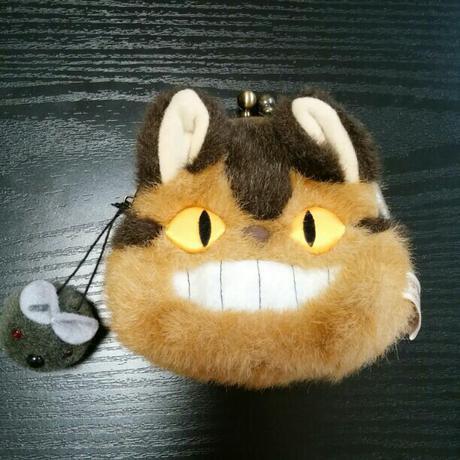 となりのトトロ ネコバスがま口財布 グッズの画像