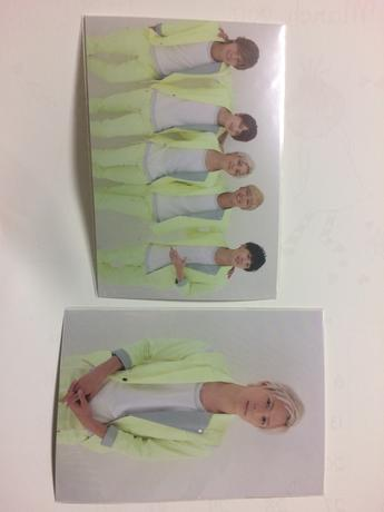 Da-iCE パラダイブポストカード ライブグッズの画像