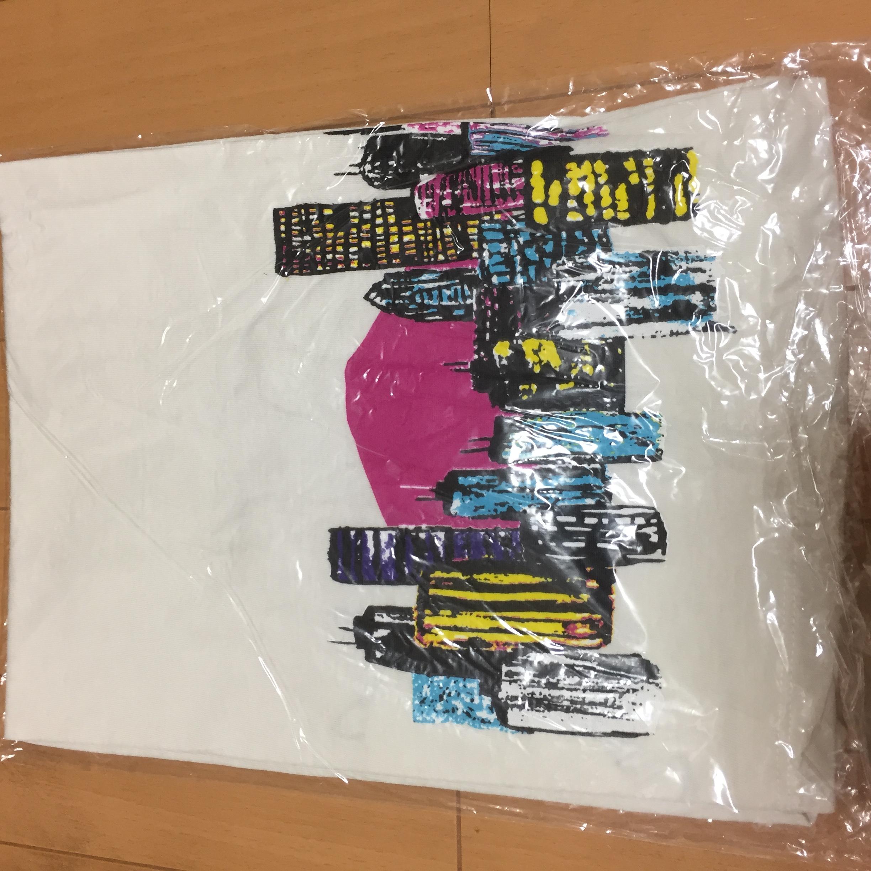 新品未開封 小沢健二 東京の街が奏でる Tシャツ レディースフリーサイズ 白