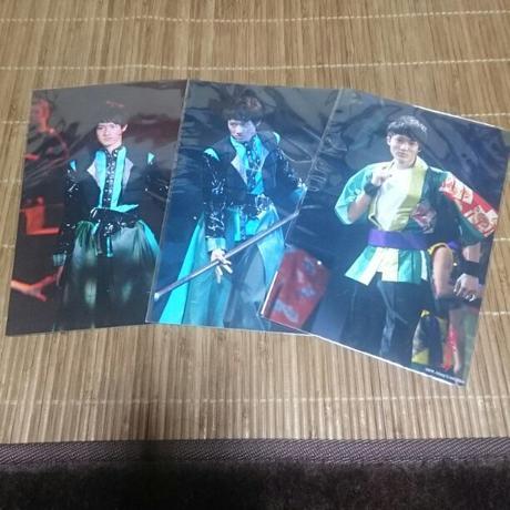Snow Man★岩本照 2011滝沢革命 ステフォ 3枚セット コンサートグッズの画像