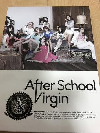 AFTER  School アルバム ライブグッズの画像