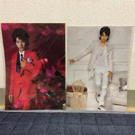 佐藤勝利 クリアファイル コンサートグッズの画像