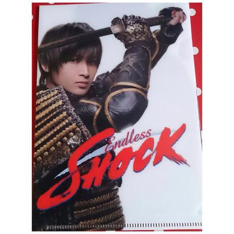 SHOCK 2011 堂本光一 帝劇限定 ミニ クリアファイル コンサートグッズの画像