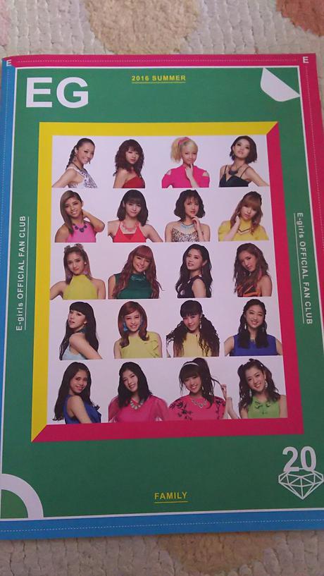 E-girls ライブグッズの画像