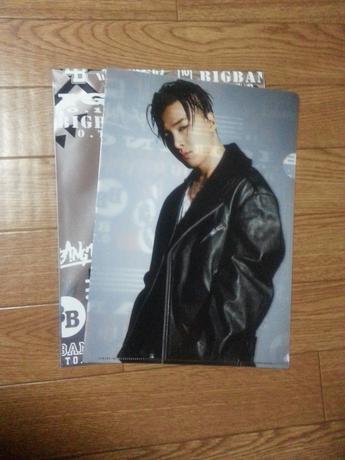 SOL クリアファイル BIGBANGくじ ライブグッズの画像