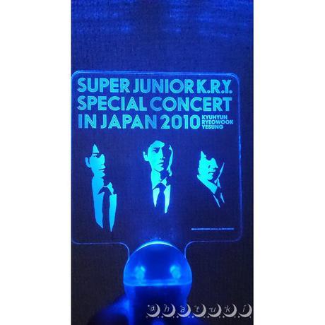 Super Junior【KRY】ペンライト ライブグッズの画像