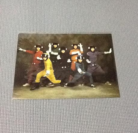 エイトレンジャー クリアファイル リサイタルグッズの画像