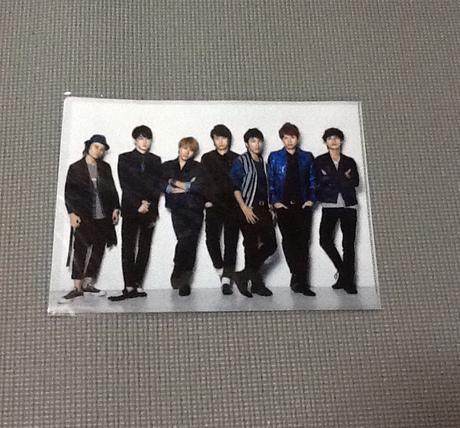 JUKE BOX クリアファイル 関ジャニ∞ リサイタルグッズの画像
