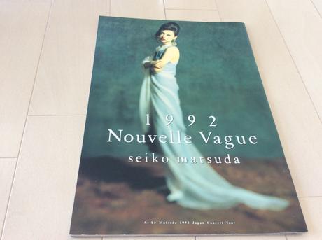 松田聖子 ツアーパンフレット nouvelle vague 1992 コンサートグッズの画像