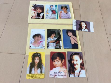 松田聖子 使用済みテレホンカード コンサートグッズの画像