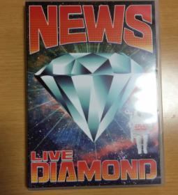 NEWS LIVE DIAMOND DVD (美品) コンサートグッズの画像