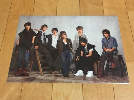 Kis-My-Ft2 えびきすコン ファイル コンサートグッズの画像