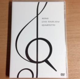 NEWS quartetto DVD  (美品)