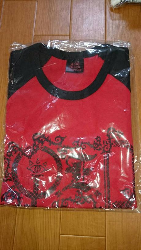 Acid Black Cherry 2009 tour Q.E.D Tシャツ ライブグッズの画像