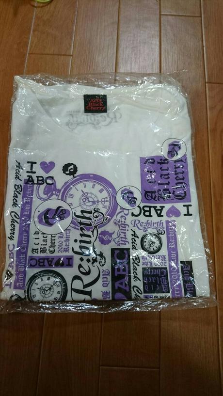 Acid Black Cherry tour Re:birth Tシャツ ライブグッズの画像