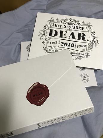 DEAR. 初回限定 DVD コンサートグッズの画像
