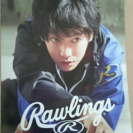 佐藤健 Rawlings カタログ ローリングス グッズの画像