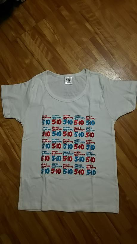 5×10 ツアーTシャツ コンサートグッズの画像