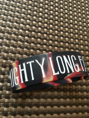 MIGHTY LONG FALL  ラバーバンド ライブグッズの画像