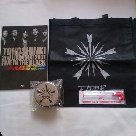 東方神起 JYJ  FIVE IN THE BLACK グッズ,CD ライブグッズの画像