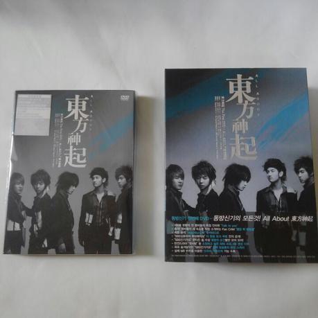 東方神起 ALL ABOUT 日本初回限定盤 ライブグッズの画像