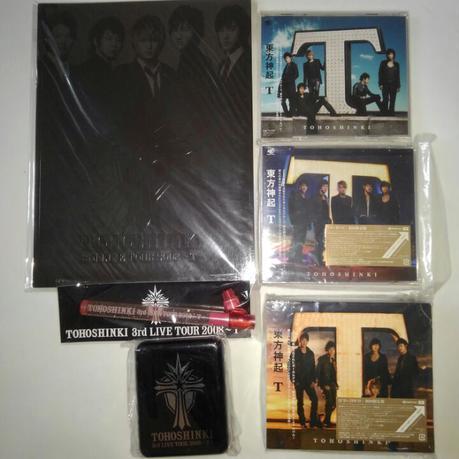東方神起 JYJ Tツアーグッズ、CDセット ライブグッズの画像