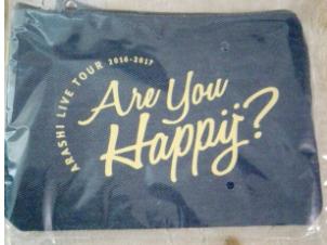 嵐 Are You Happy? ポーチ  (新品)