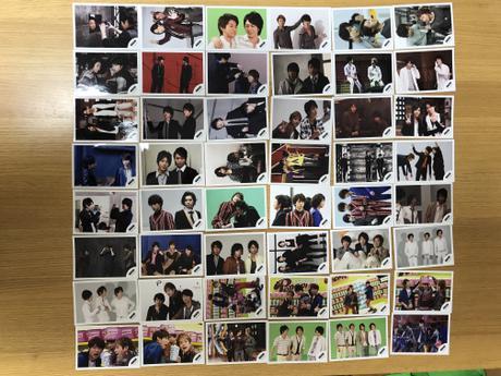 【定価以下】【櫻井翔メイン】嵐☆公式写真☆ARASHIロゴ コンビ、トリオ コンサートグッズの画像