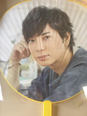松本潤くんうちわ2016 コンサートグッズの画像