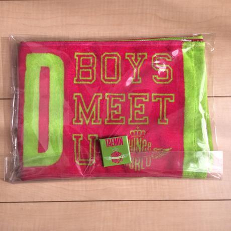 SHINee BOYS MEET U テミン タオル&バッジセット/SW2013 ライブグッズの画像
